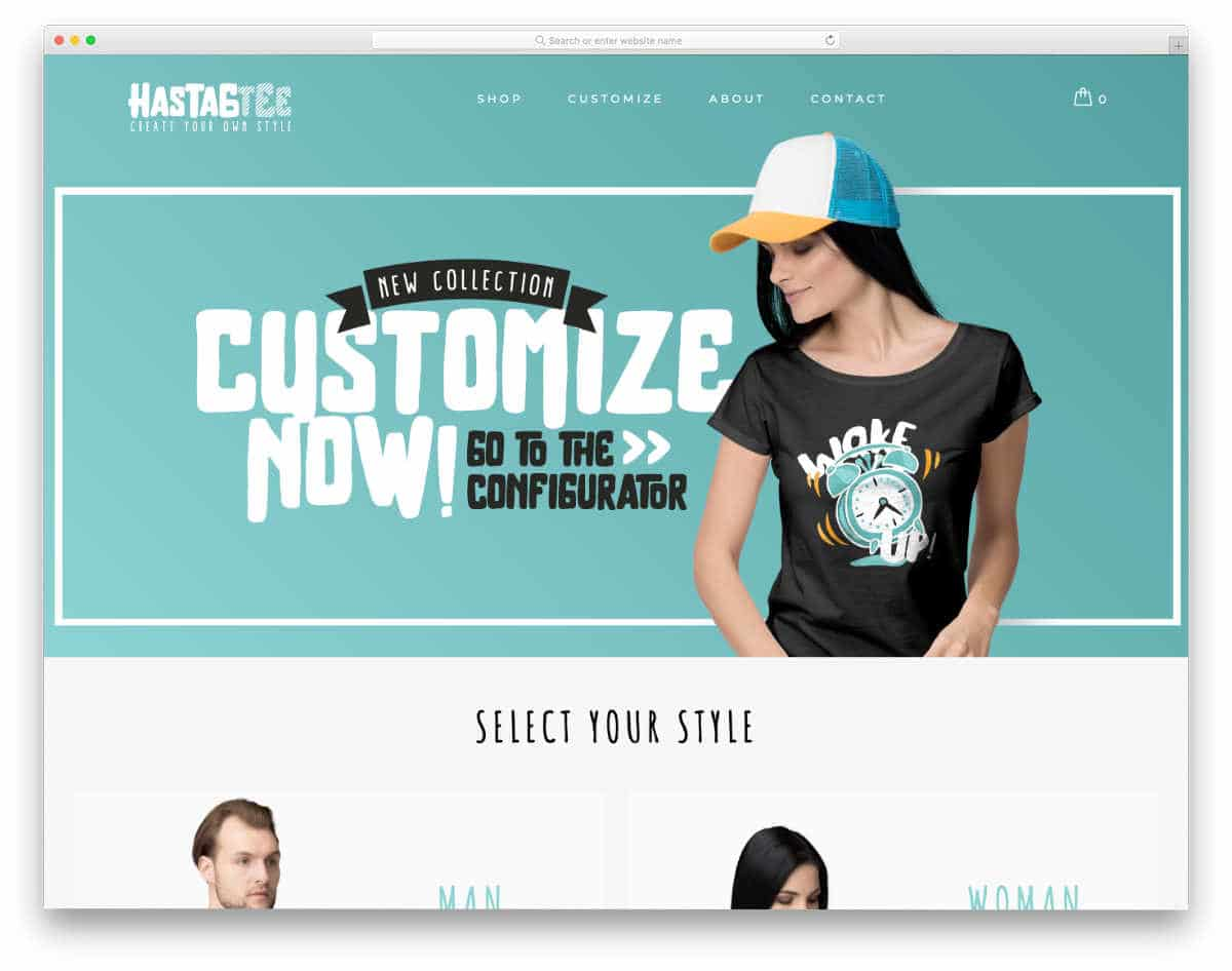 easy-to-customized website template