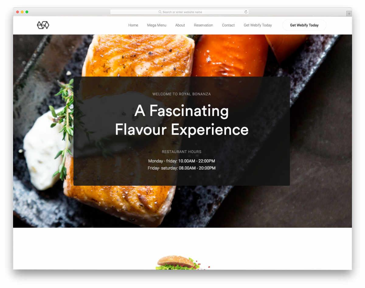 Fake Website Templates to copy trendy-looking websites