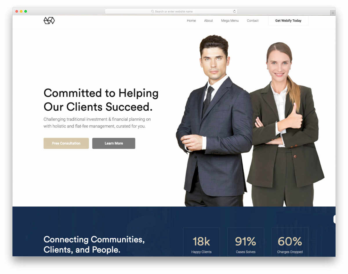 cleverly crafted website template