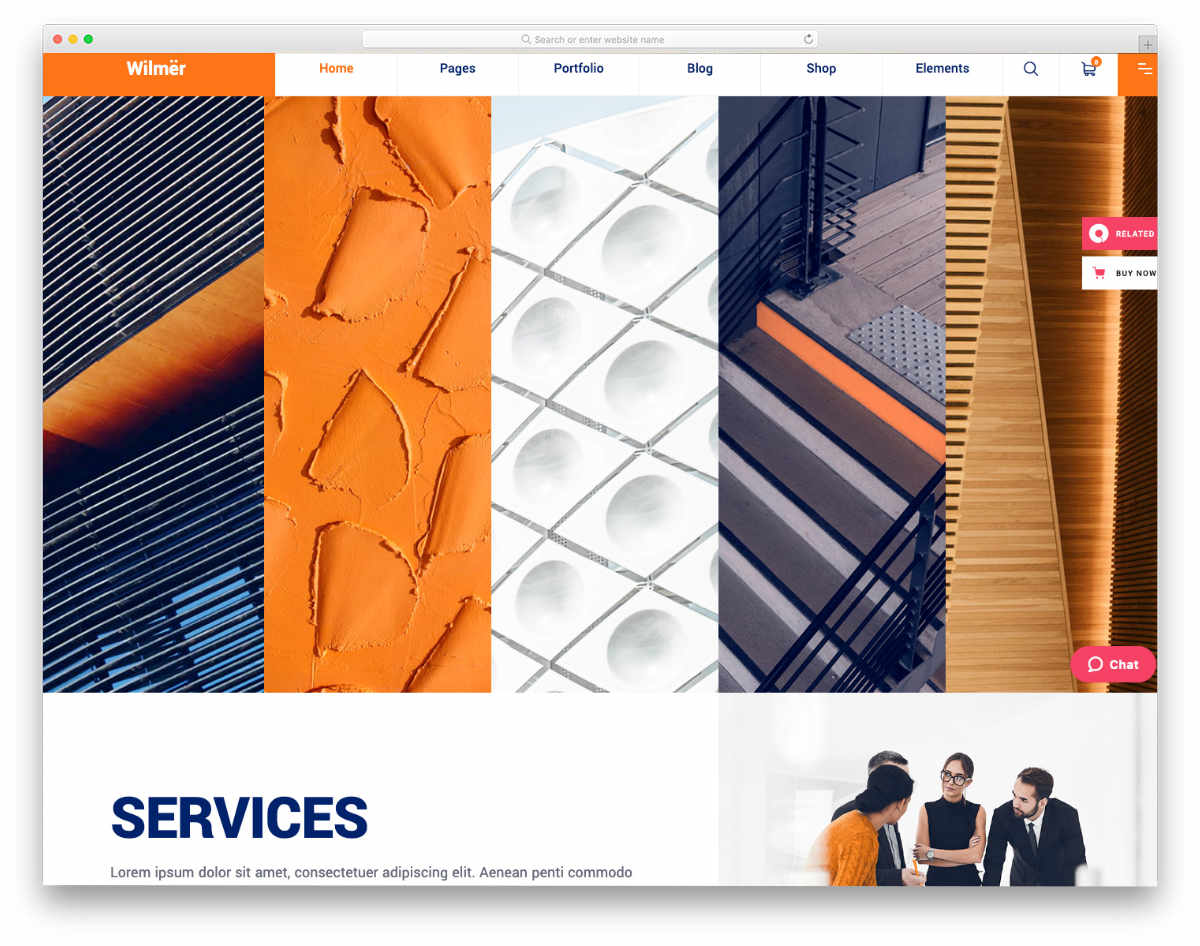 Fake Website Templates for construction companies
