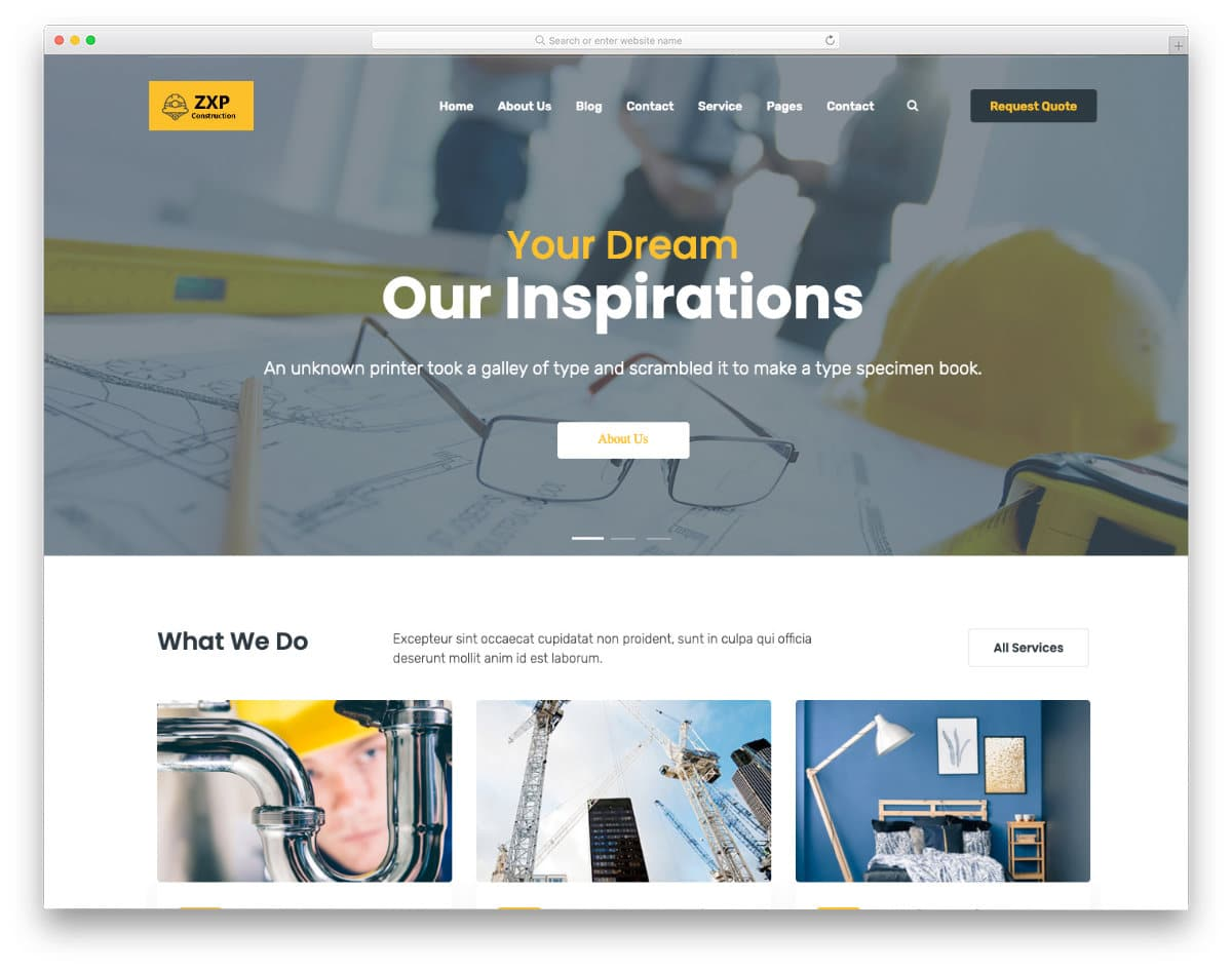 Construction and Real Estate Investor Templates