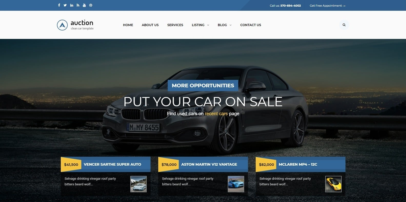 13 Wordpress Auction Website Template Options For Beginners 2020