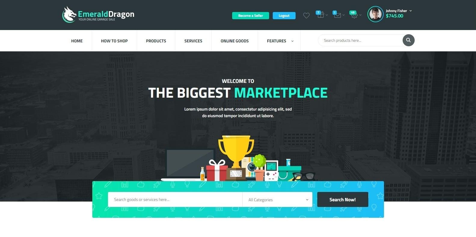 emeralddragon-auction-website-templates-wordpress