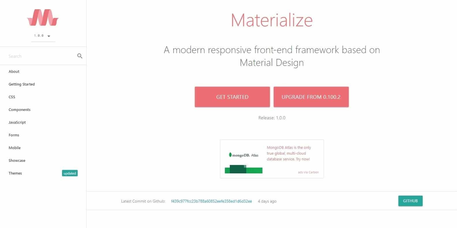 materialize-css-framework