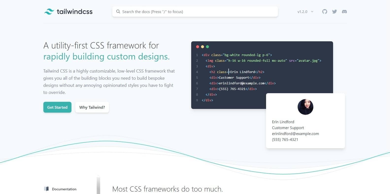 tailwind-css-framework