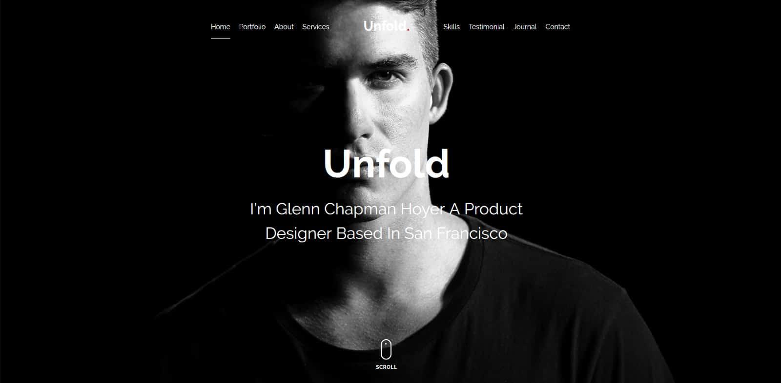 unfold-free-multipurpose-website-template