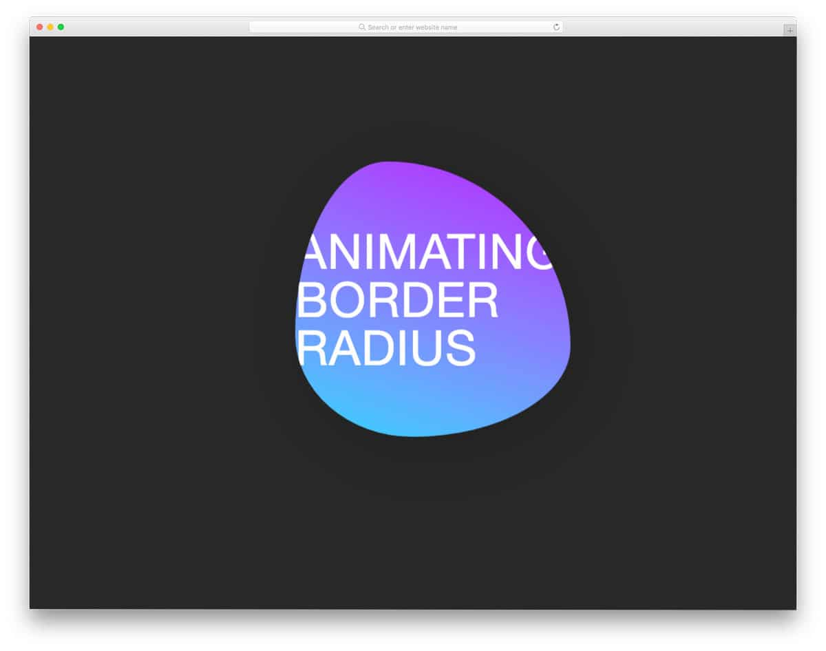 circular border animation