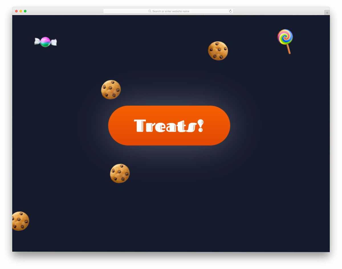 fun interactive button concept