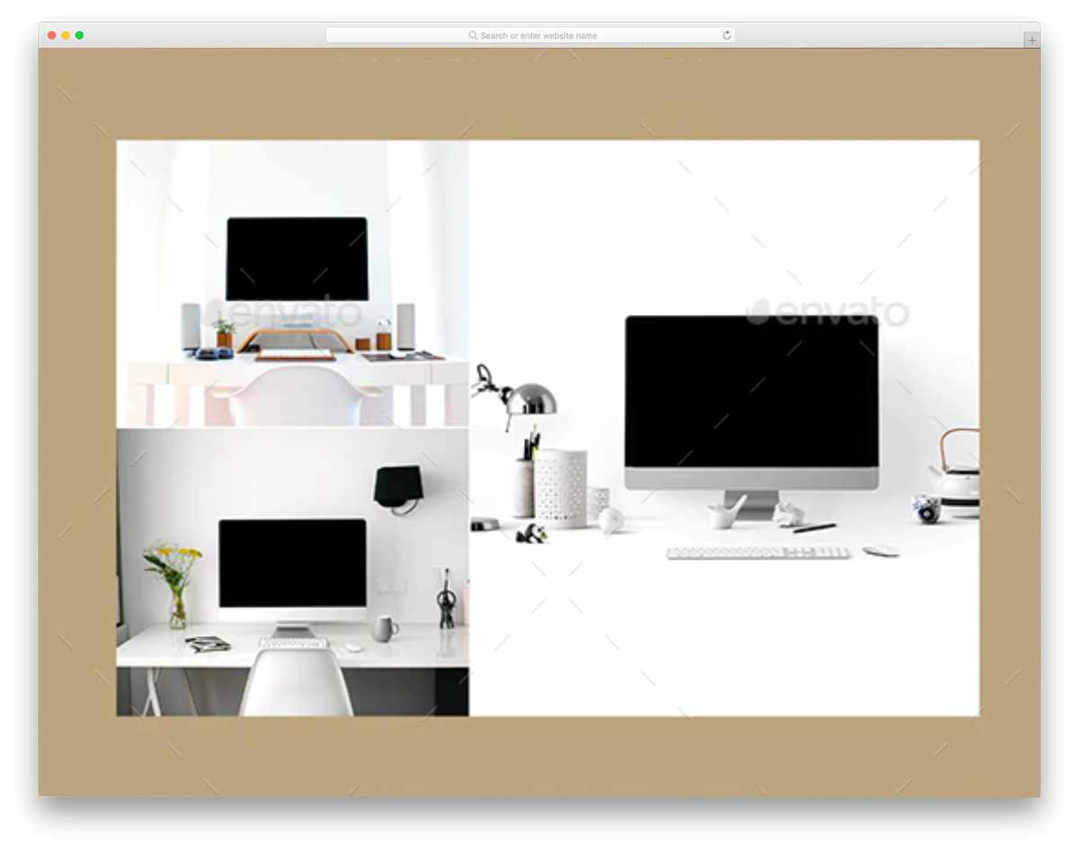 iMac mockup bundle