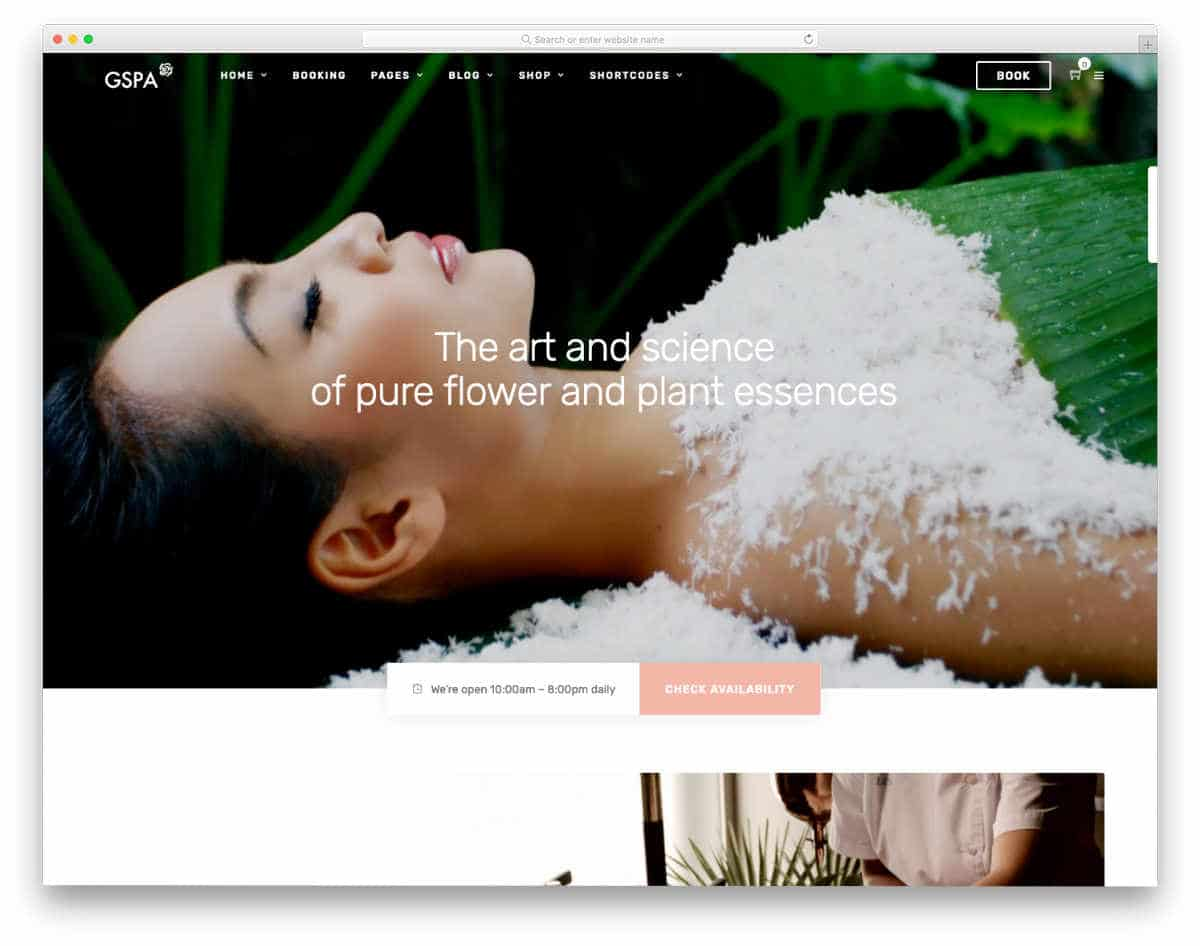 image-rich website template