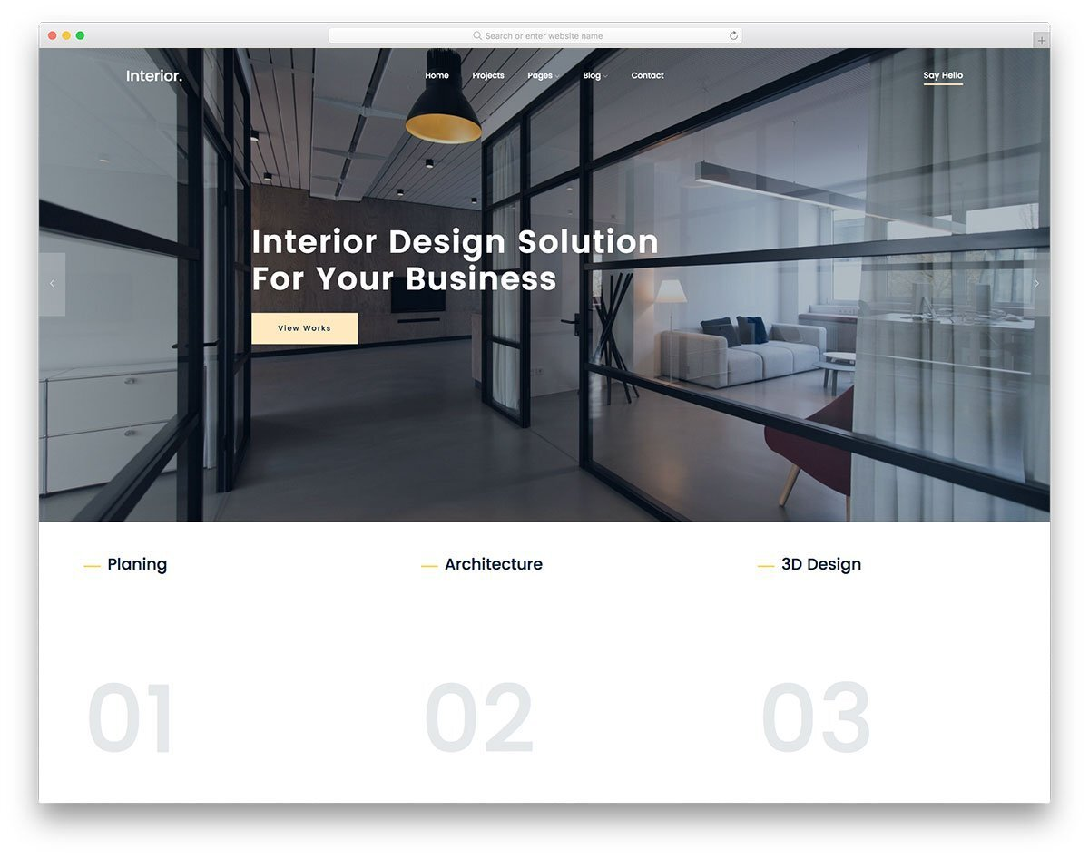 corporate style business theme