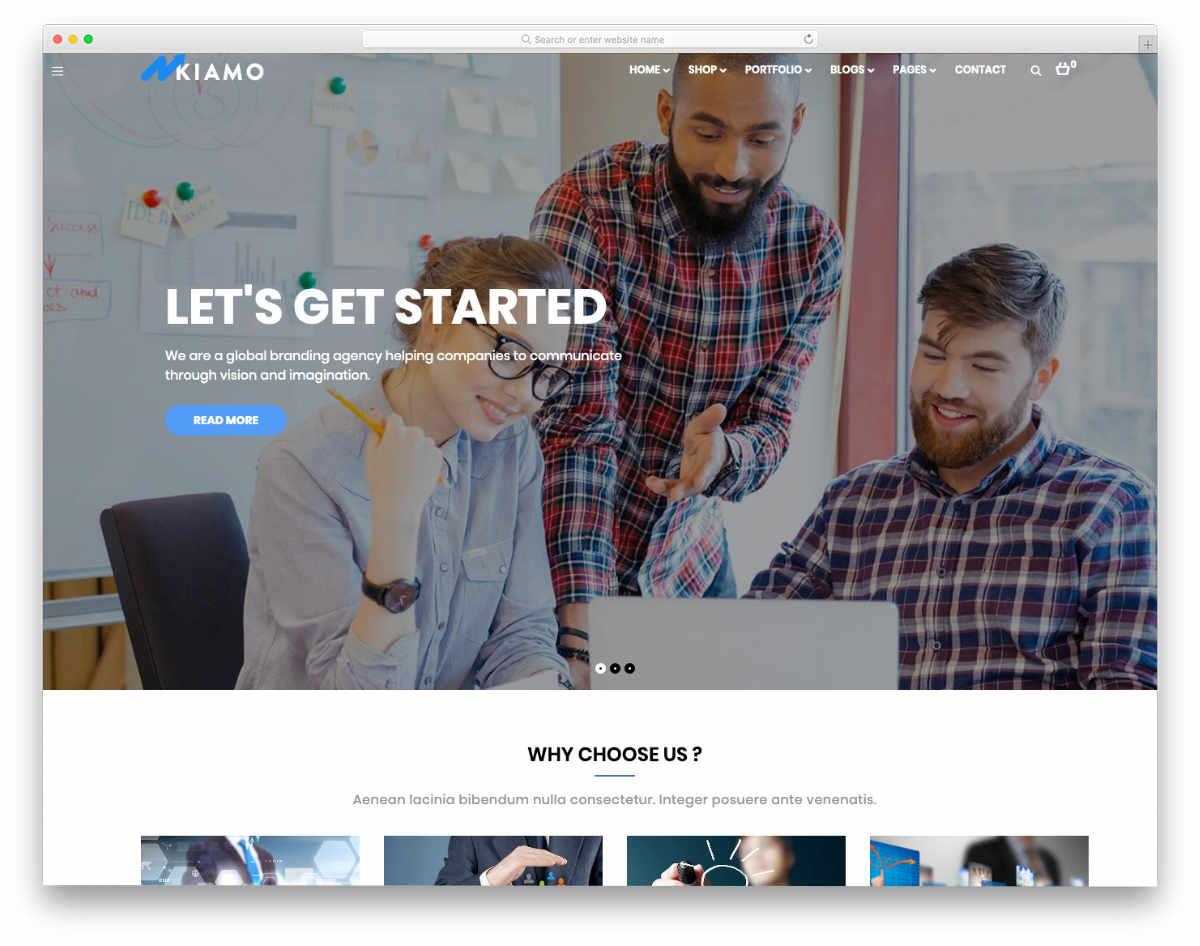 multipurpose it service website template