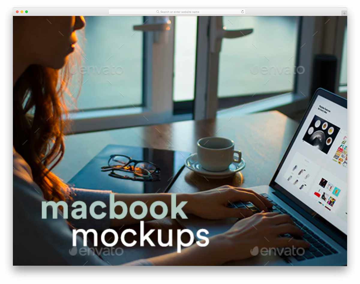 macbook mockup bundle