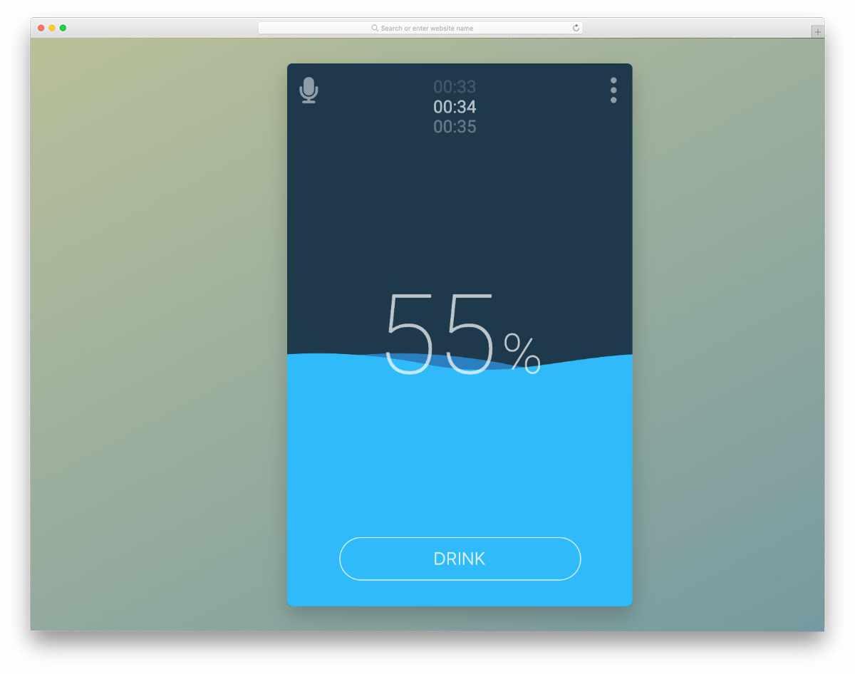 timer app concept