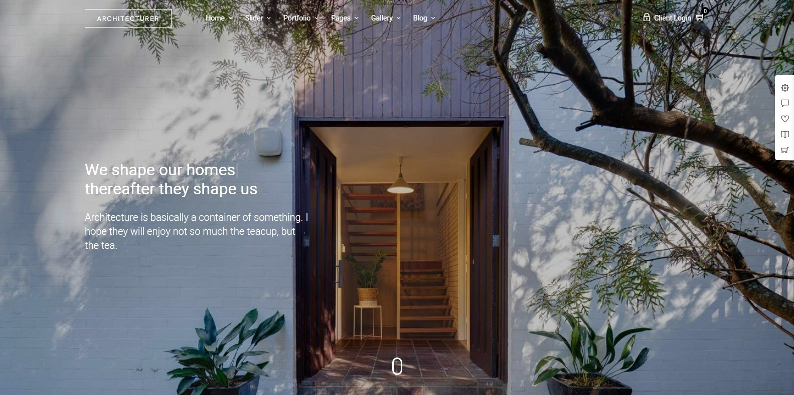architecturer-home-staging-website-template