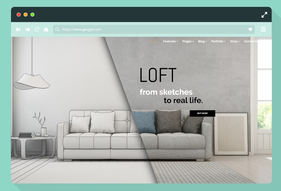 home-staging-website-template