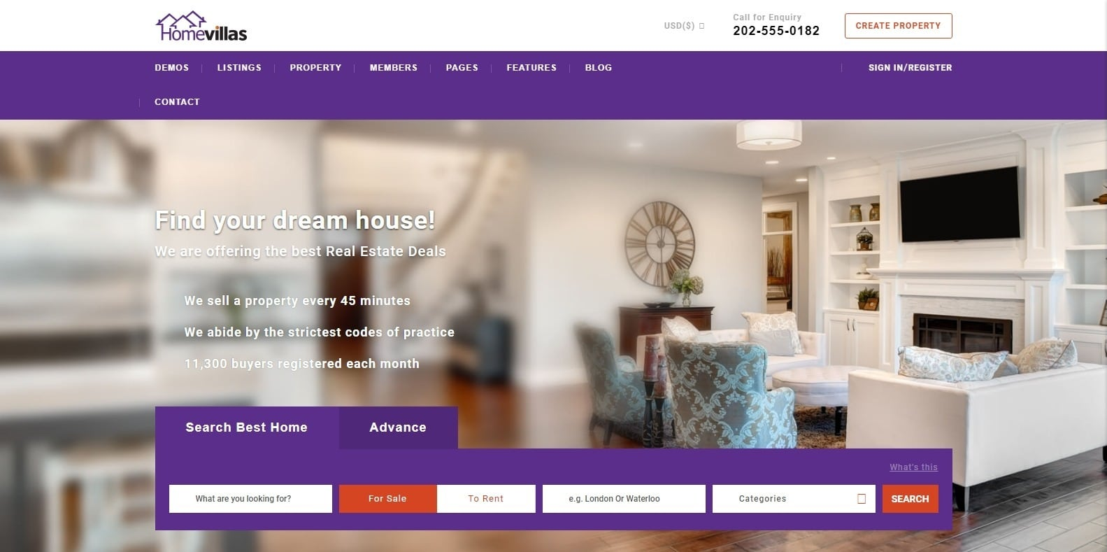 home-villas-wordpress-mortgage-broker-website-template