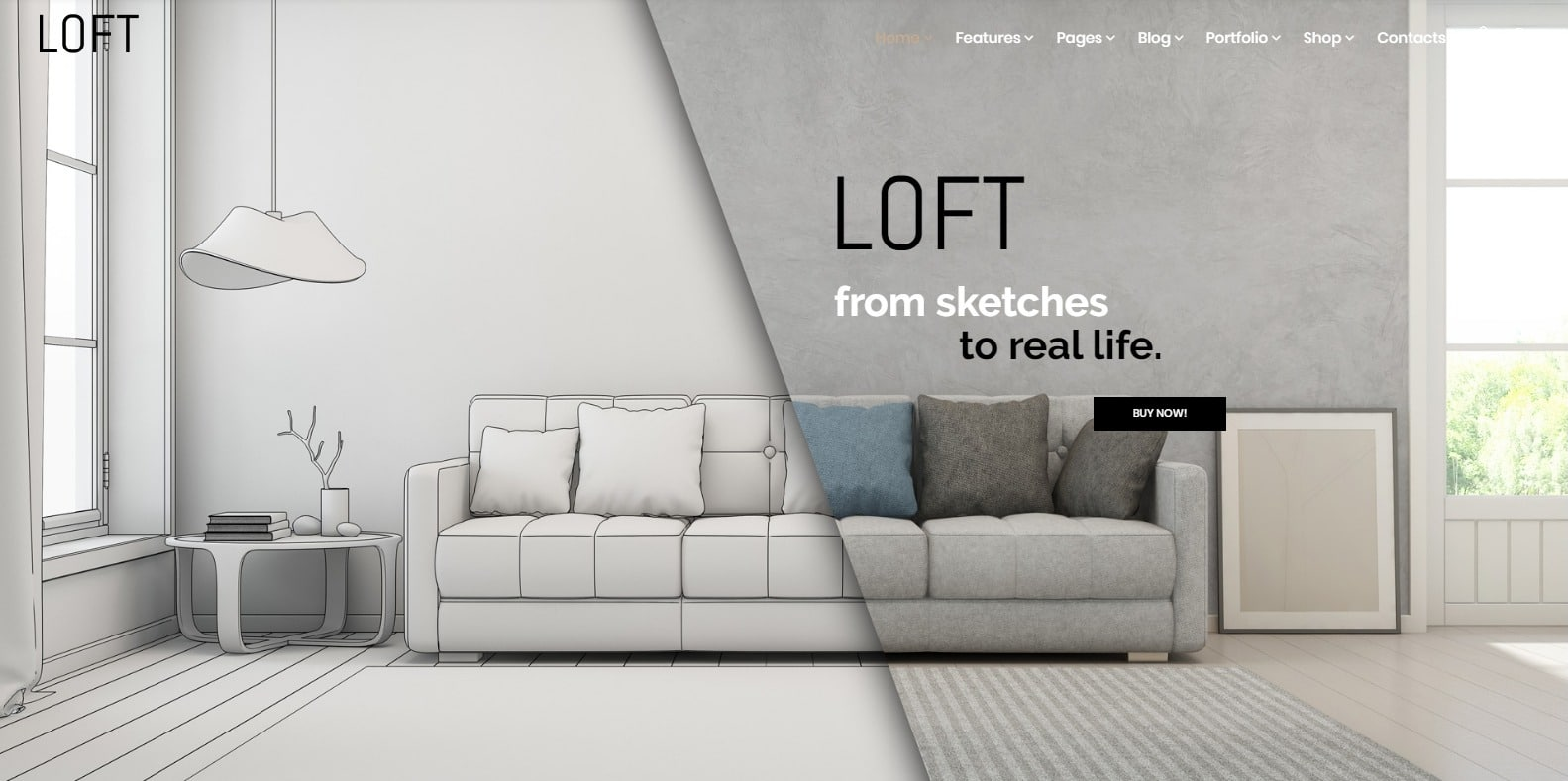 loft-home-staging-website-template