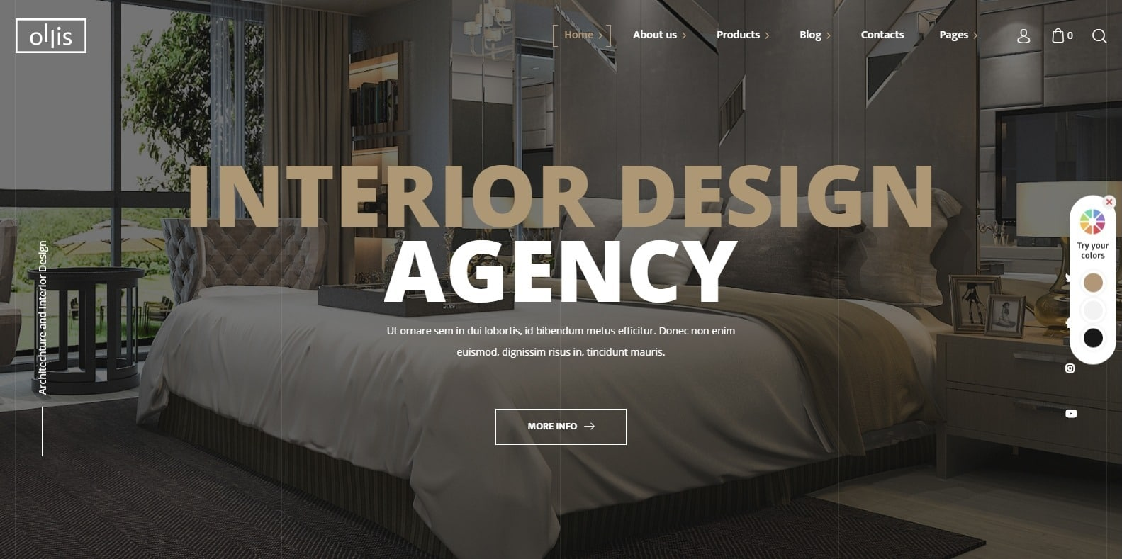 ollis-home-staging-website-template