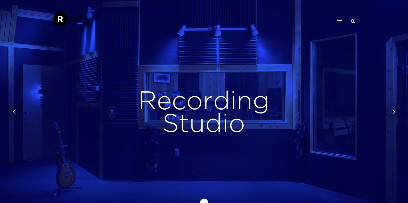 recording-studio-website-template