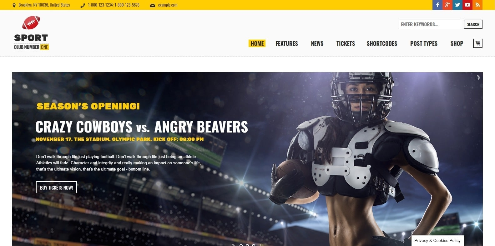 sportsclub-softball-website-template-wordpress