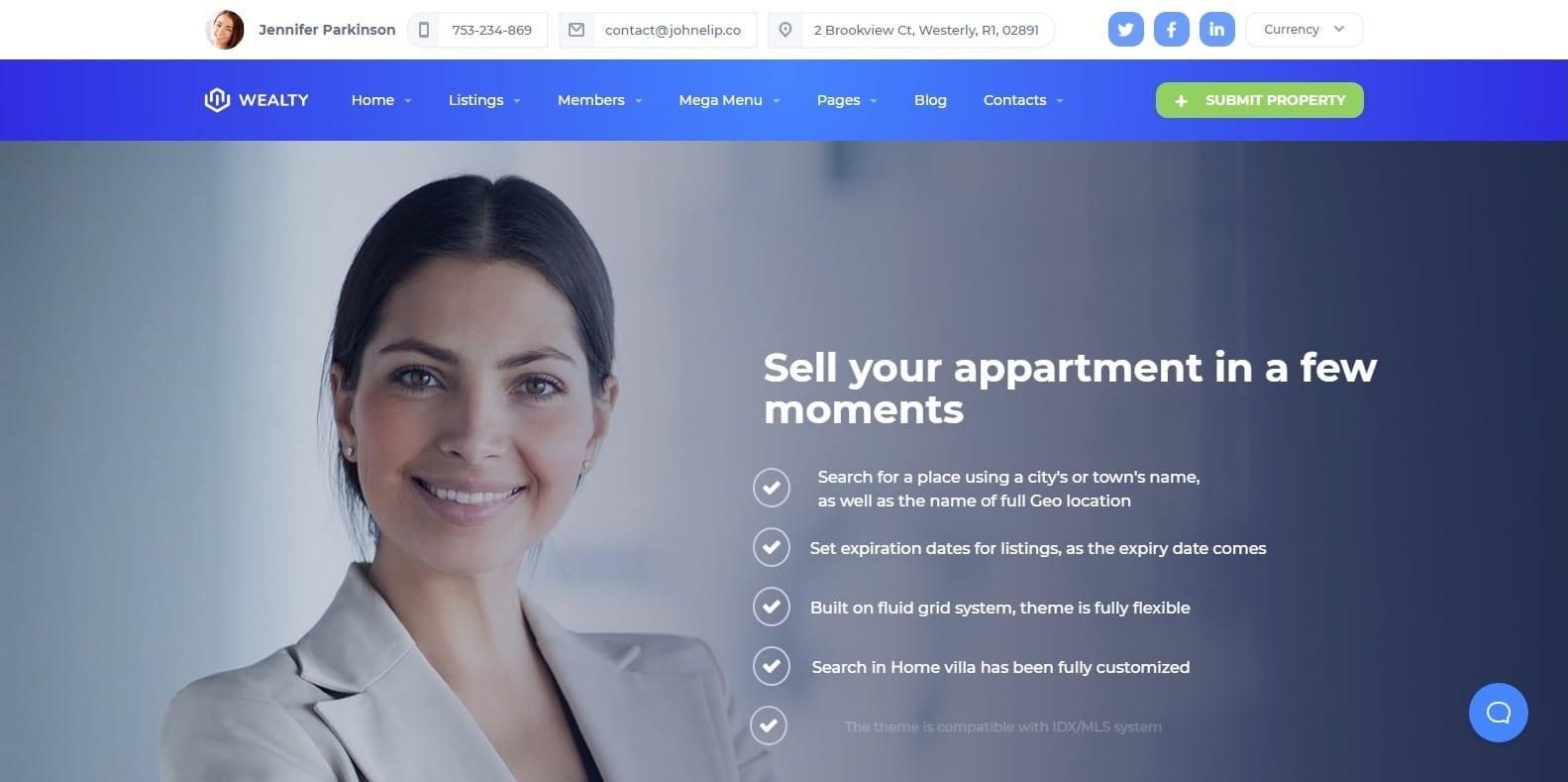wealty-wordpress-mortgage-broker-website-template