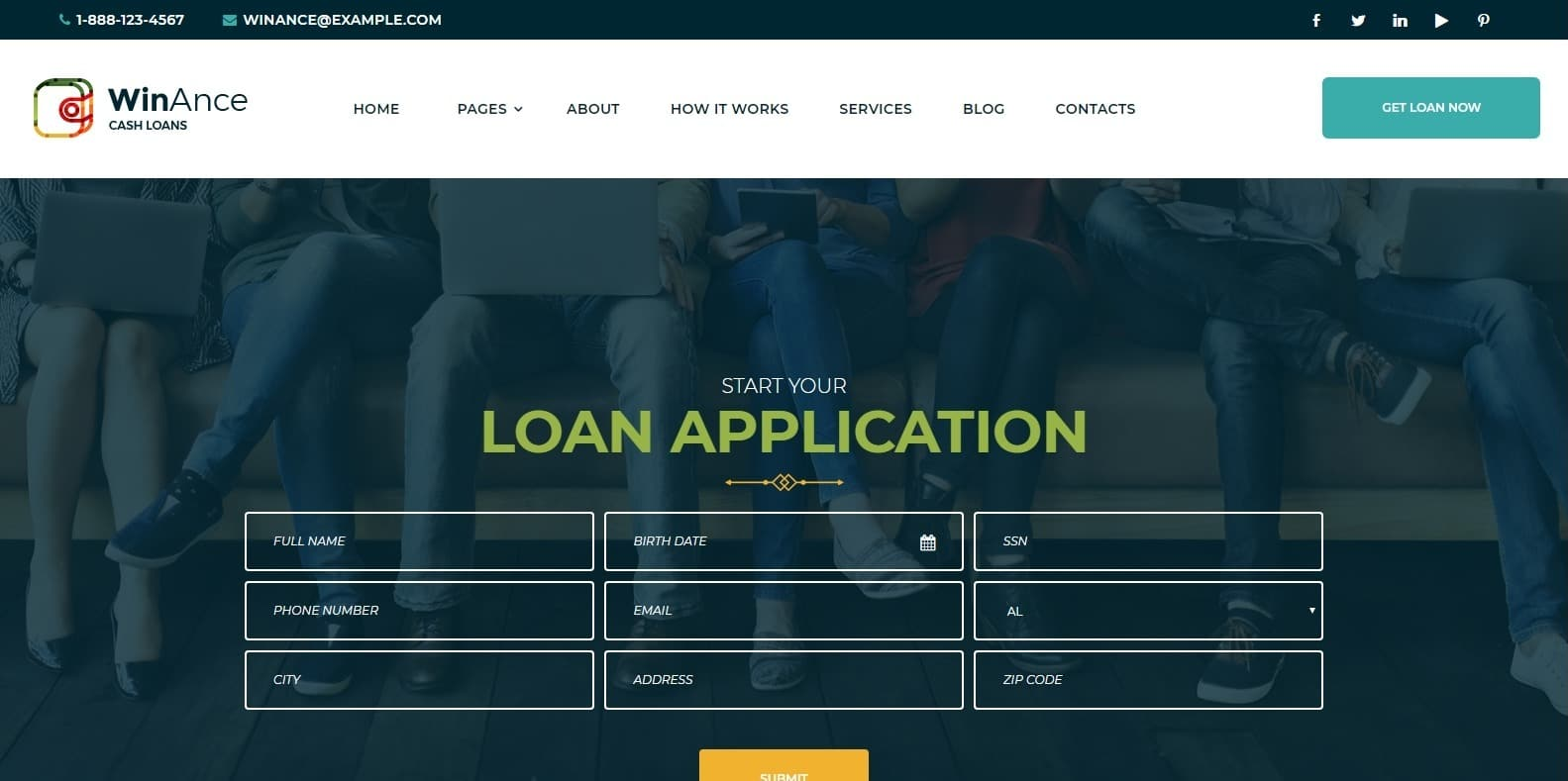 winance-wordpress-mortgage-broker-website-template