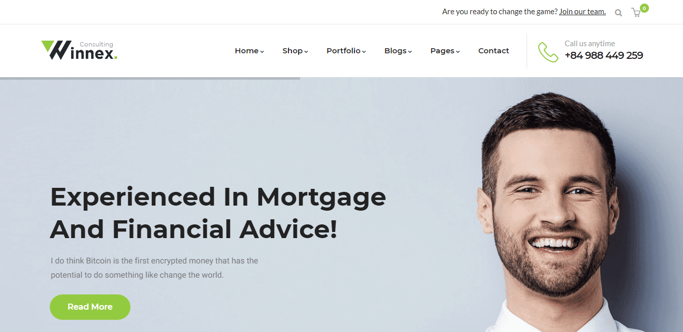 winnex-mortgage-website-template