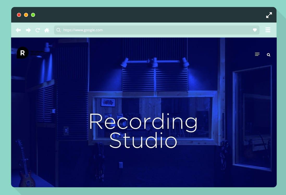 wordpress-recording-studio-website-template