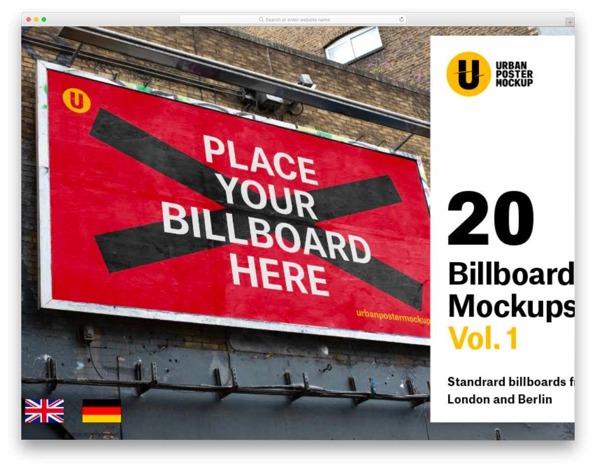 billboard mockup bundle