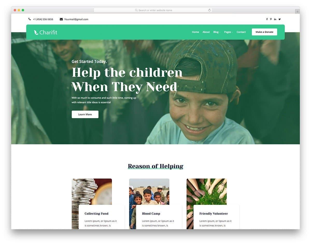 user-friendly website template