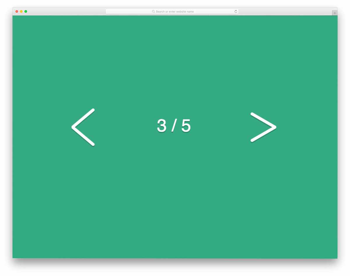 simple yet elegant pagination design