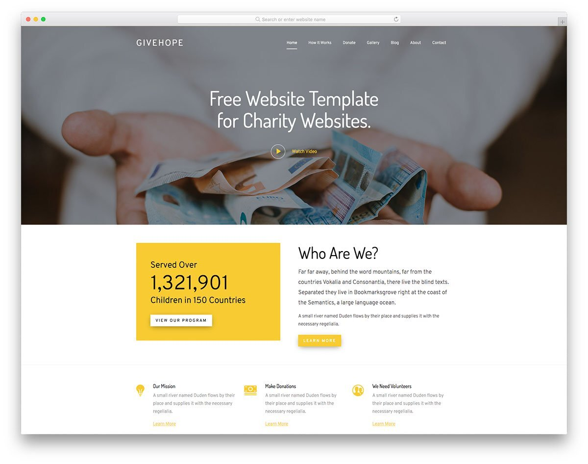 feature-packed website template
