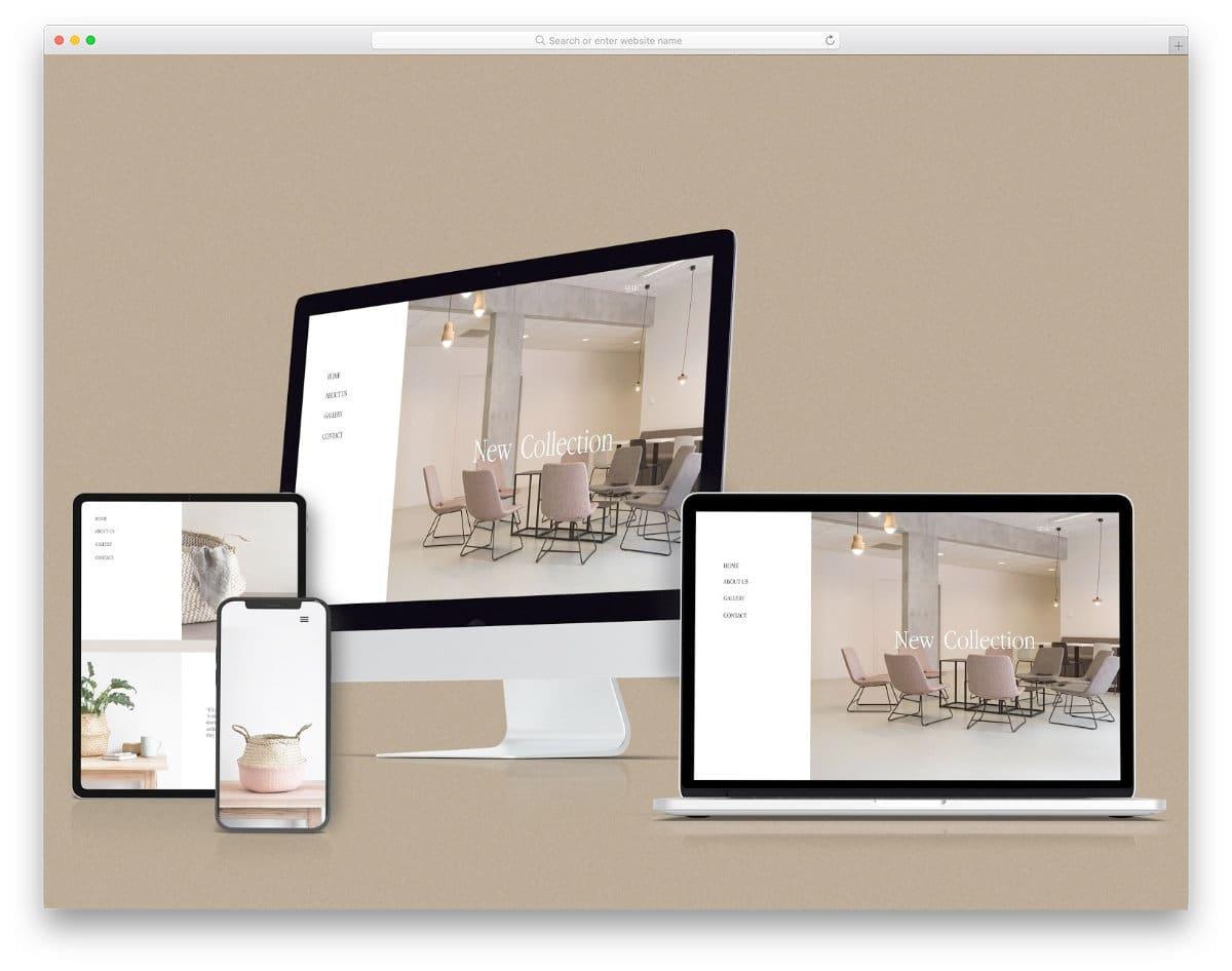 multiple device mockup for responsive design