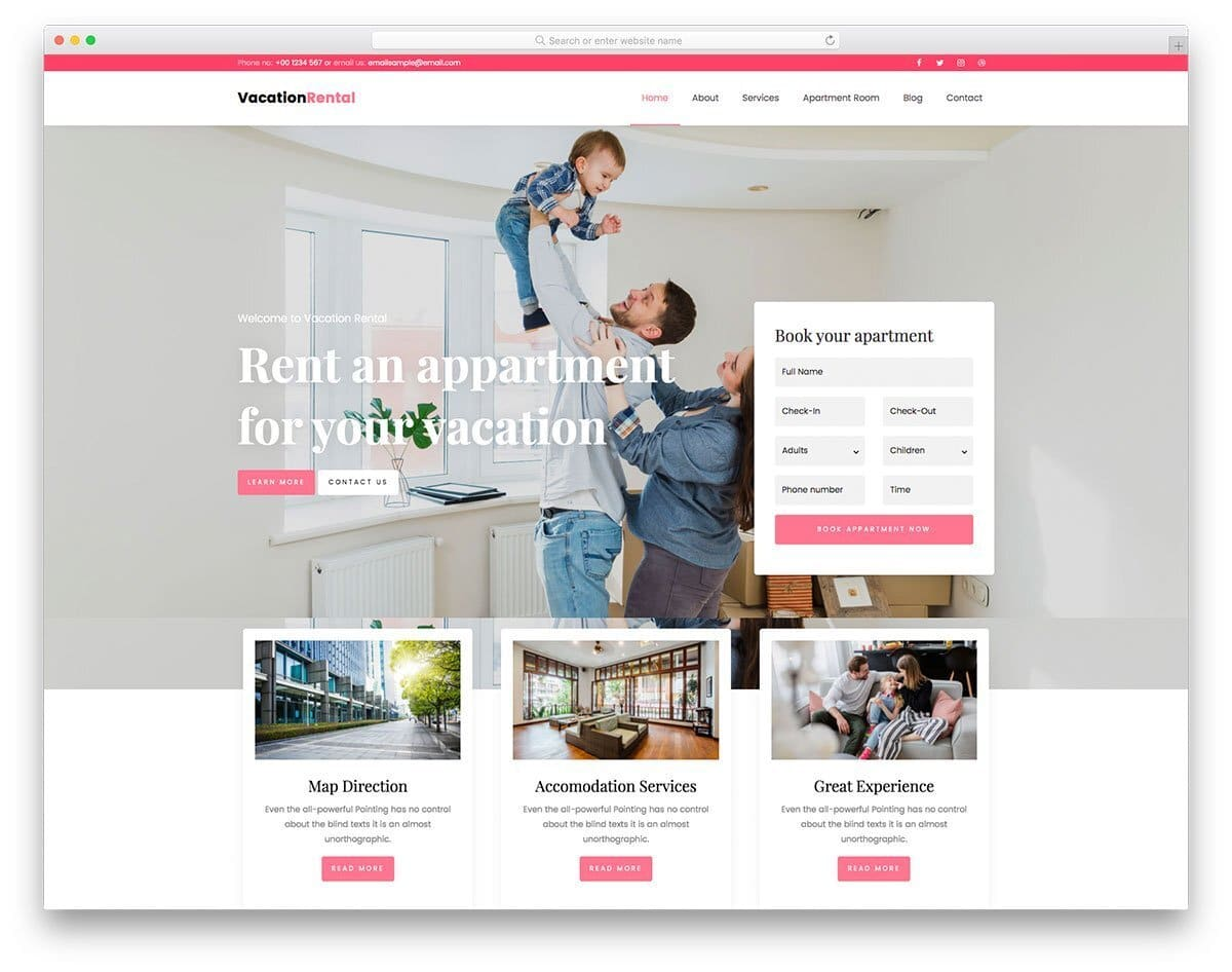 multipurpose service website templates