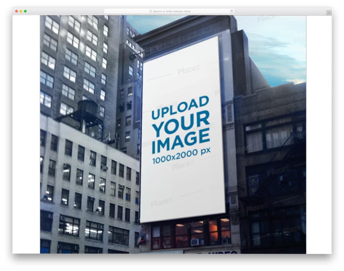 billboard mockup generator