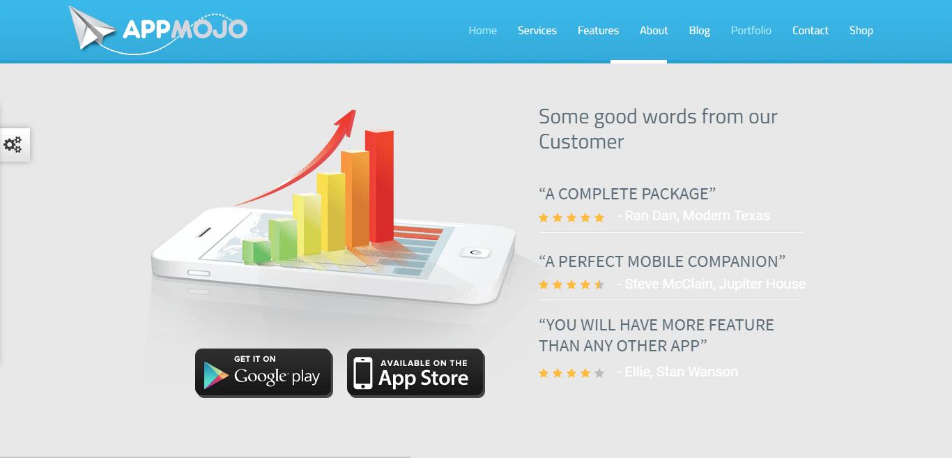 appmojo-software-company-website-template
