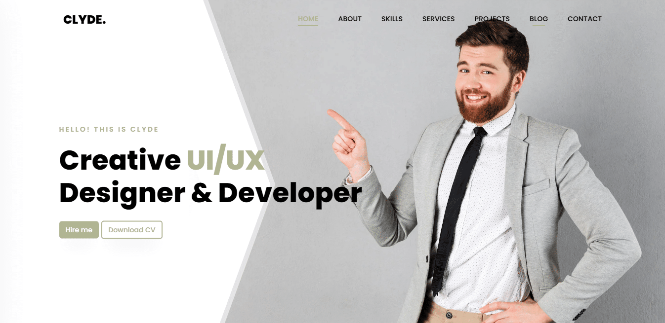 clyde-free-html-bootstrap-website-template