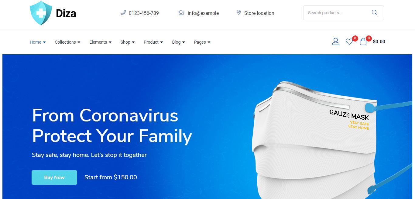 diza-hospital-website-template