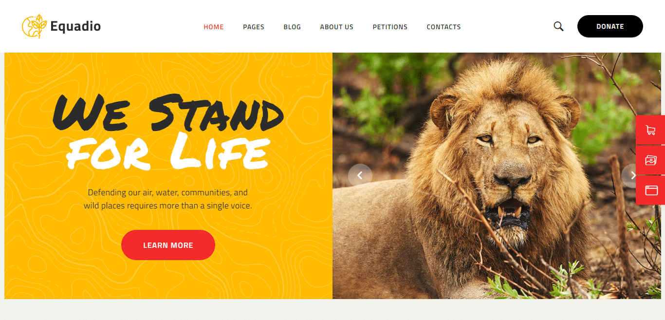 equadio-political-website-template