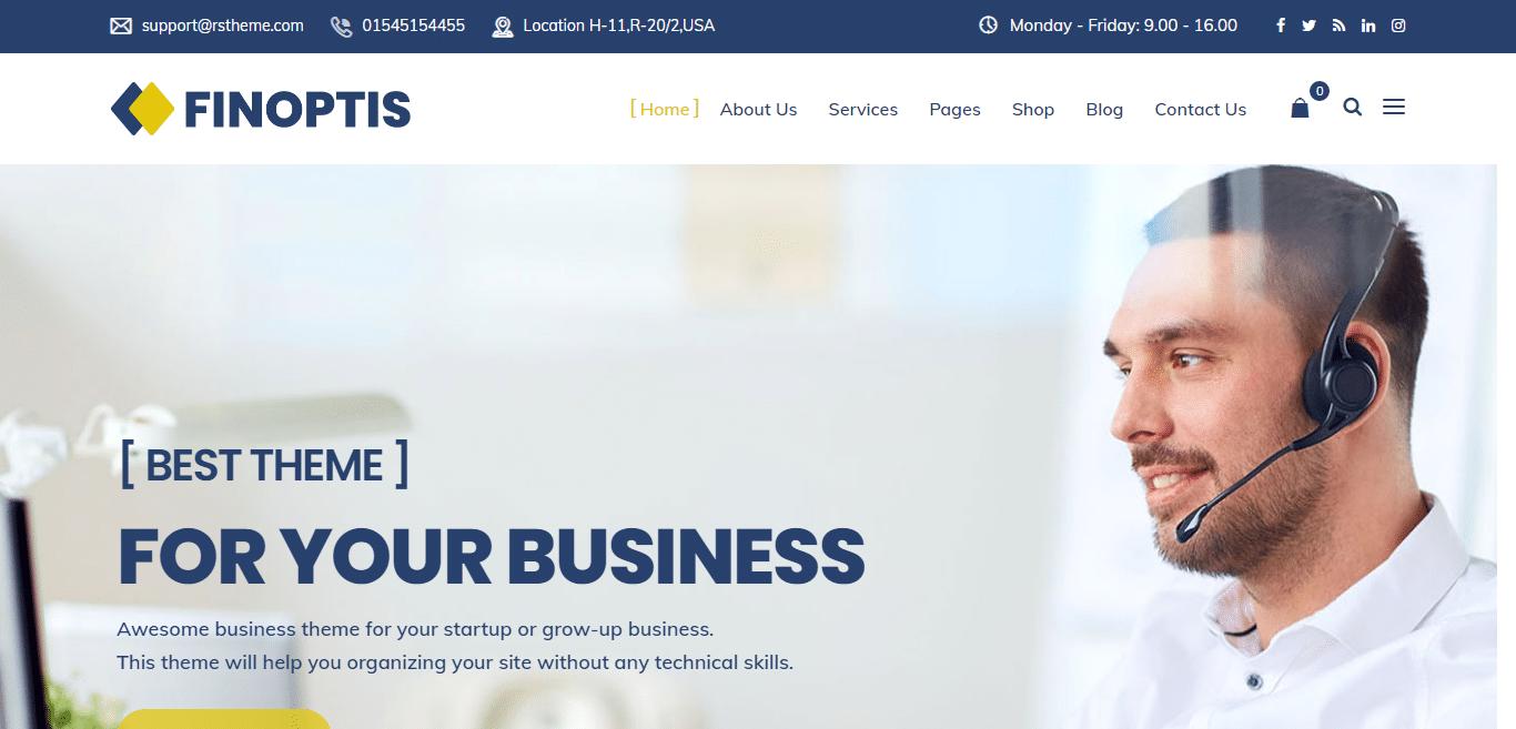 finoptis-finance-website-template