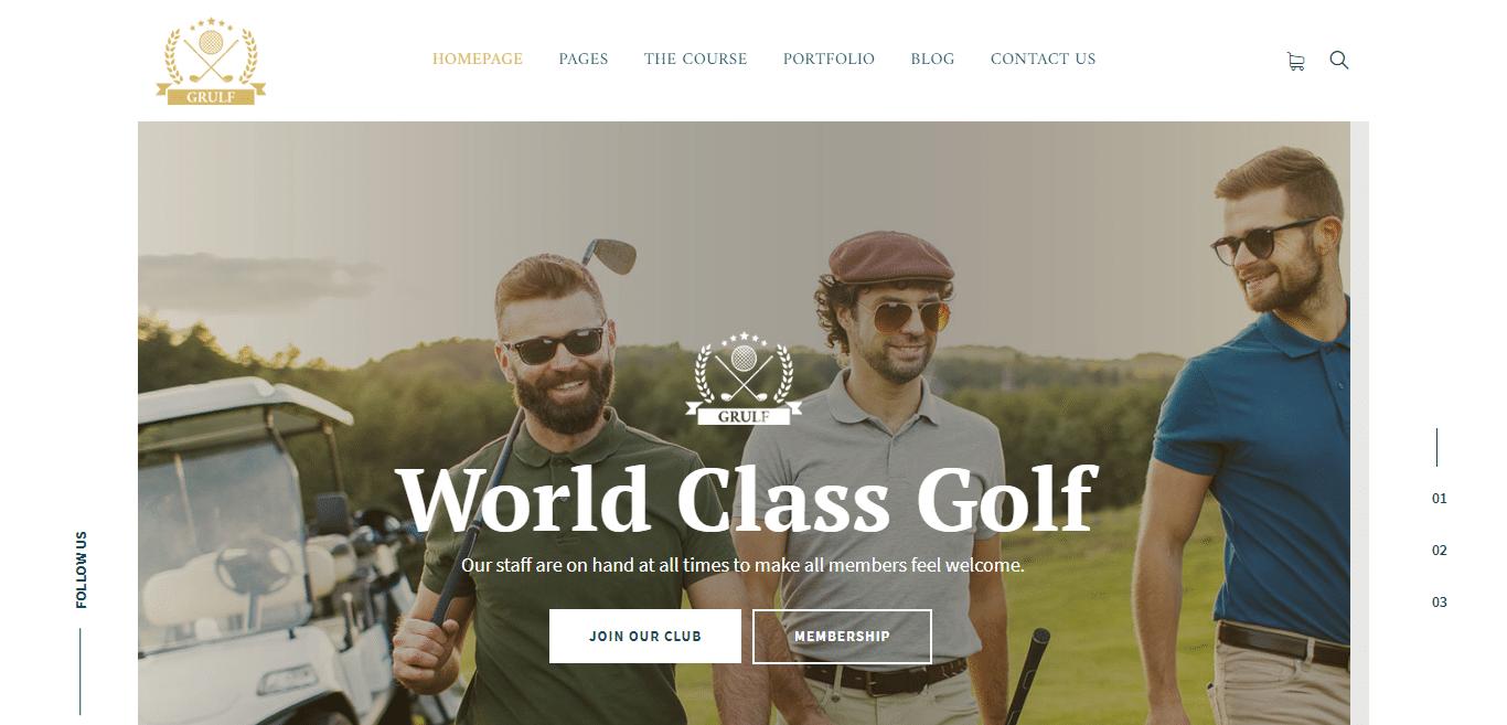 grulf-sports-website-template