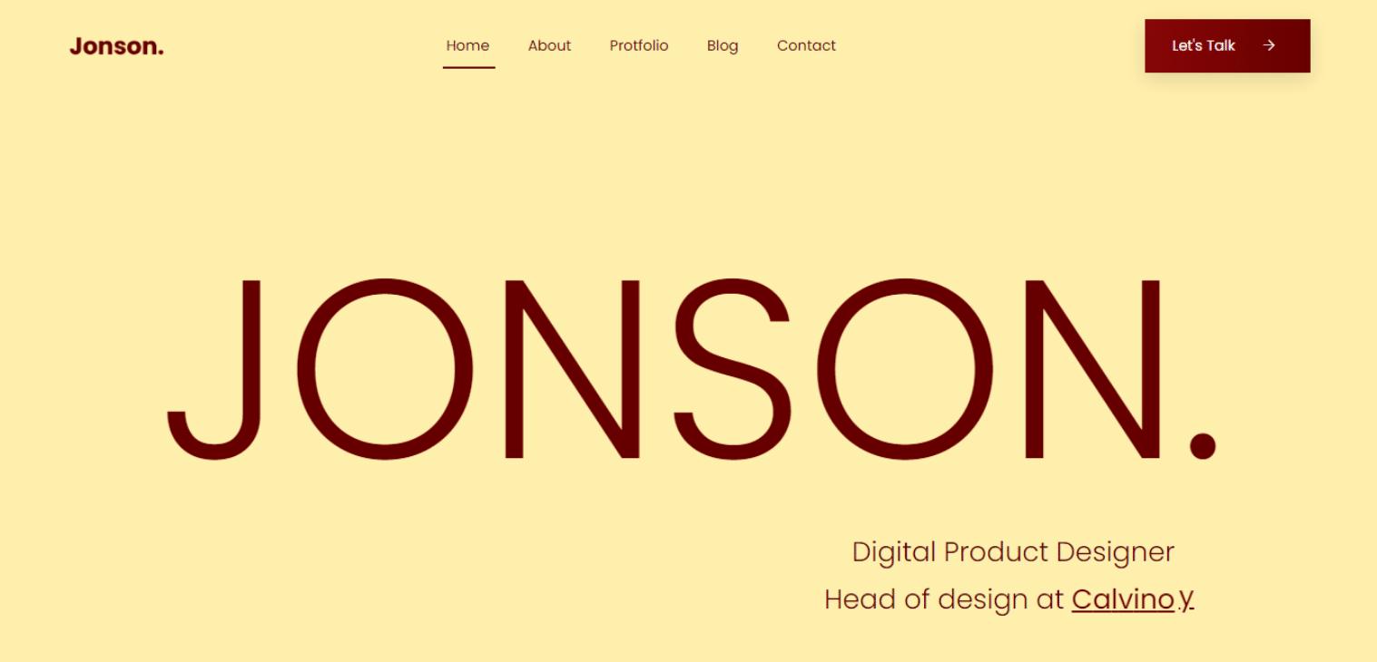 jonson-free-html-bootstrap-website-template