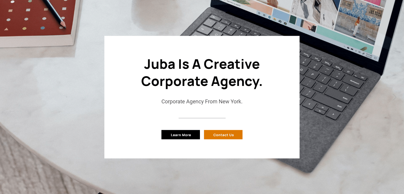juba-consulting-website-template