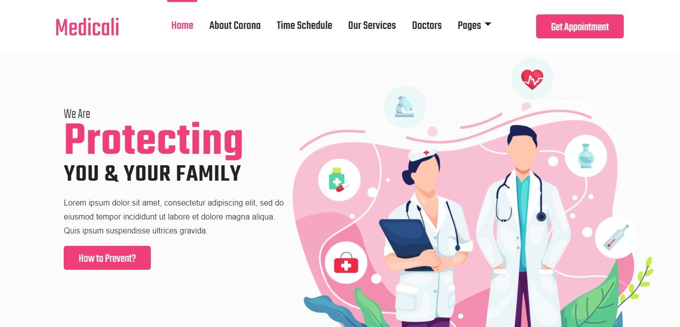 medicoli-medical-website-template