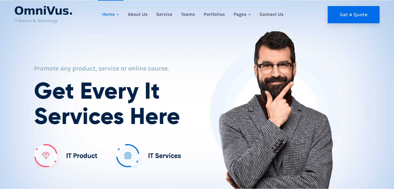omnivus-technology-website-template
