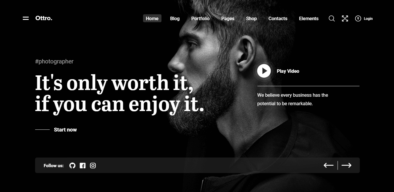 ottro-gallery-website-template
