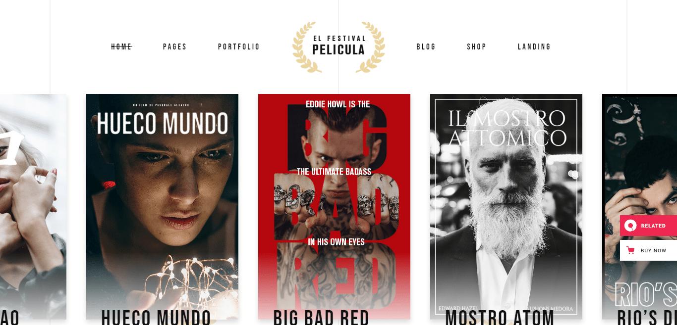 pelicula-video-website-template