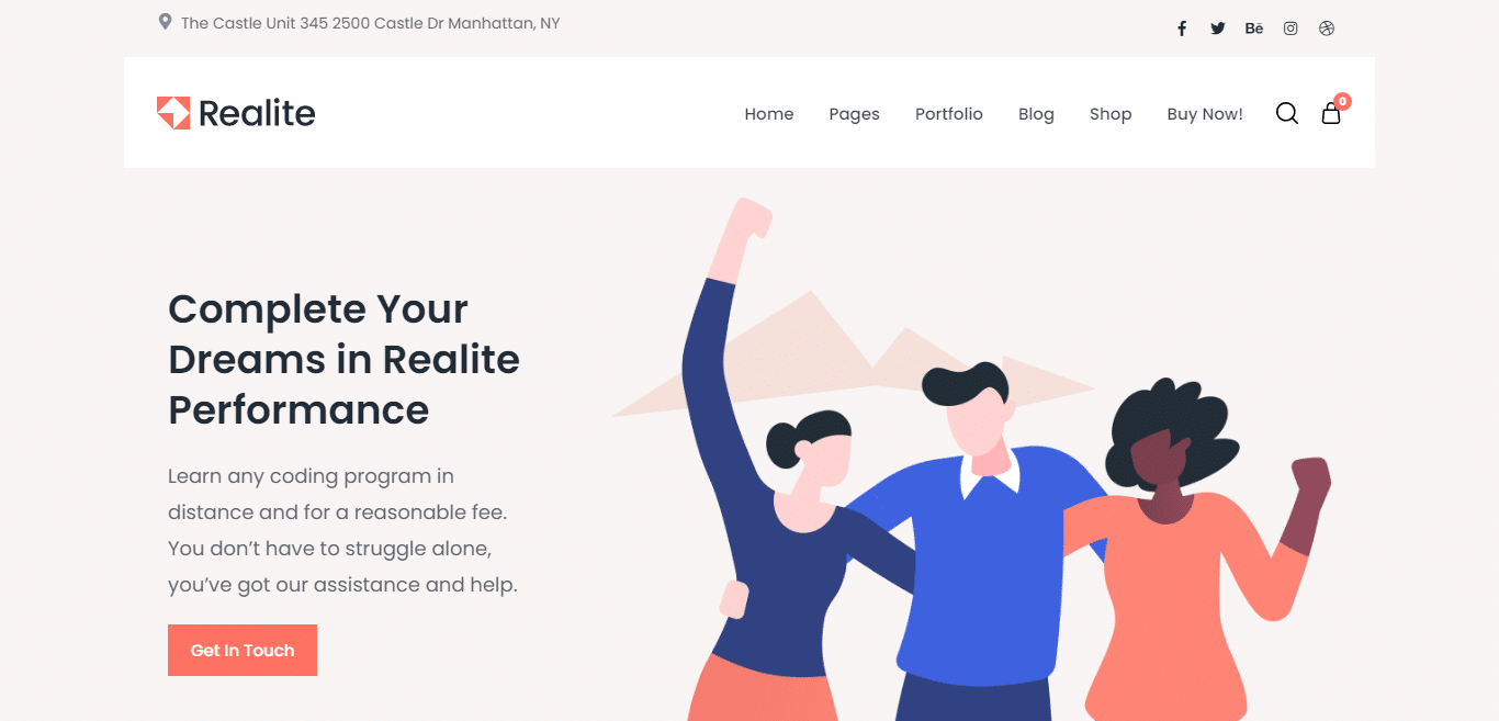 realite-technological-website-template