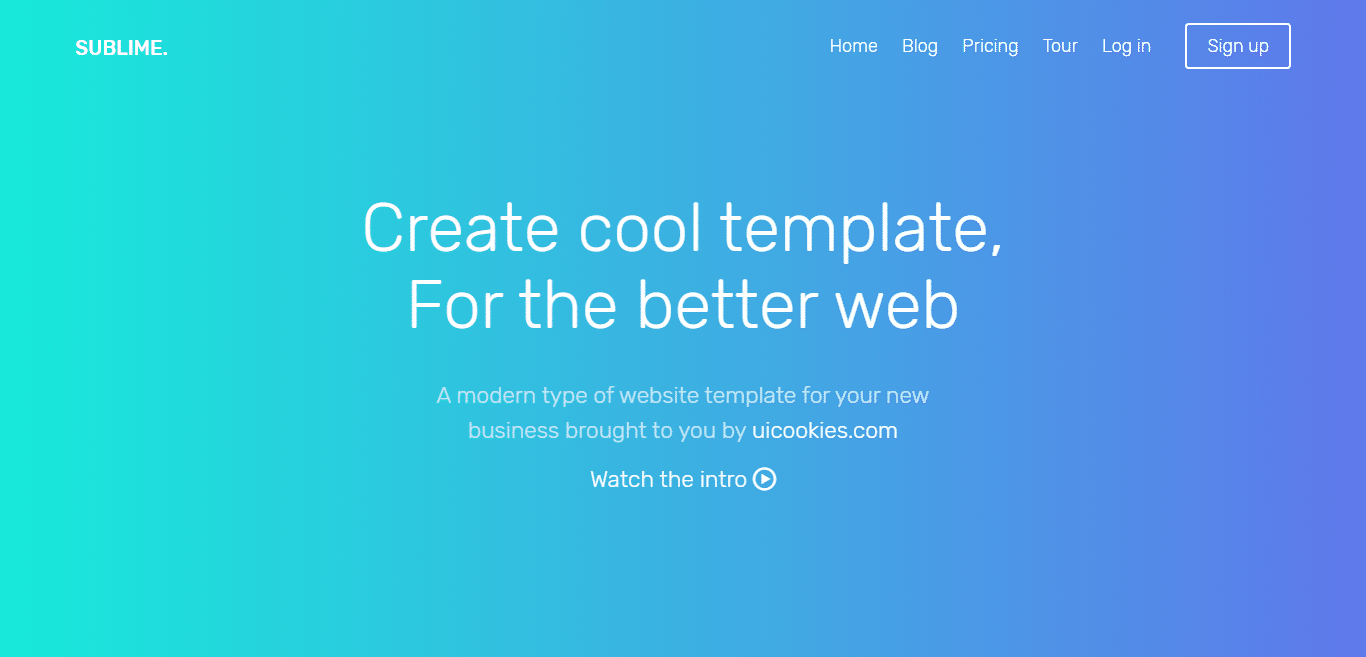 sublime-free-it-software-website-template